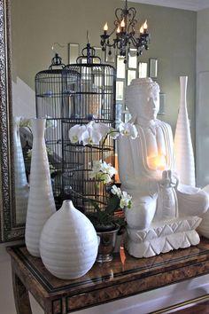 buddhas & birdcages <3