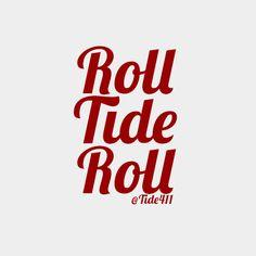 Roll Tide Roll #Tide #Alabama