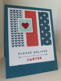 Stamping With Debbie: SENT WITH LOVE CARD SET