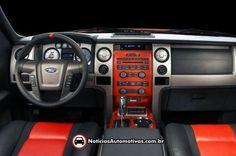 Ford F-150 Raptor SVT Raptor Interior  (Not my Raptor... Mine has the touchscreen)