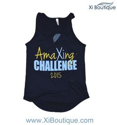 Xi Boutique Custom! AmaXIng Challenge 2015 Tank