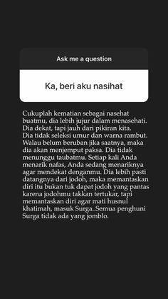 Quotes Rindu, Message Quotes, Reminder Quotes, Self Quotes, Self Reminder, Mood Quotes, Hadith Quotes, Story Quotes, Quran Quotes Inspirational