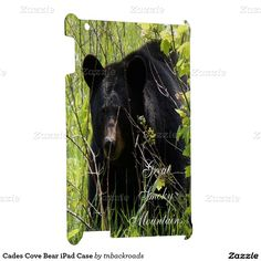 Cades Cove Bear iPad Case