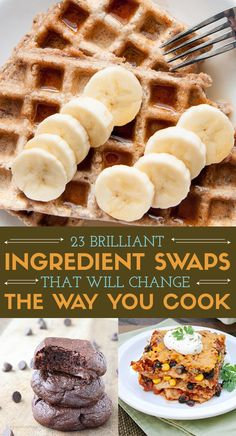 23 Brilliant Ingredient Swaps You Should Really Try