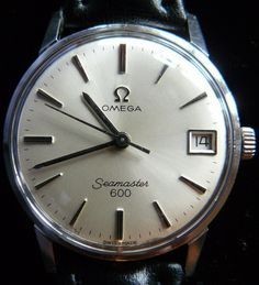 Vintage Seamasters are nice ... so long as they are a white metal.