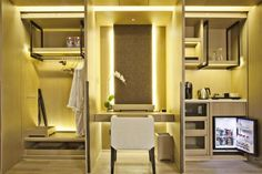 Gallery The East Hotel A 5 minutes walk from Wulin Square . Book a hotel in Hangzhou. Hotel Minibar, Romantic Hotel Rooms, Mini Bar, Resorts, Hangzhou, Tianjin, Hotel Interiors, Hotel Suites, Hospitality Design