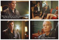 oh, spike XD | Angel: The Series