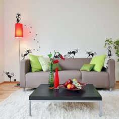 Cute Cats Wall Stickers