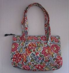 726055fc46f VERA BRADLEY Hope Garden Retired Pattern Handbag Purse Tote  VeraBradley   TotesShoppers Vera Bradley,