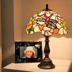 A Garden Visitor Tiffany Bedside Lamp