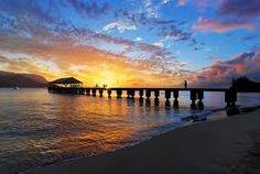 Sunset, Hanalei Bay, Kauai