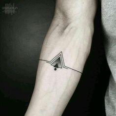 Mathematical identity geometry tattoo