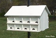 Plans for a Purple Martin House