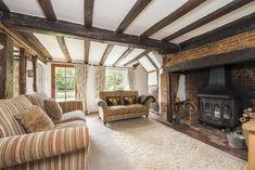 2 Hollies Cottage #livingroom #exposedbeams