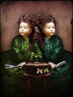 Emerald Twins by Catrin Welz-Stein (aka Catrin Arno)