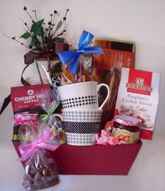 Holiday Gift Baskets, Wine Gift Baskets, Holiday Gifts, Coffee Baskets, Real Estate Gifts, Coffee Cookies, Wine Cellars, Spa Gifts, Wine Festival
