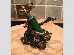 Meccano oldskool robot, by Paul Dale
