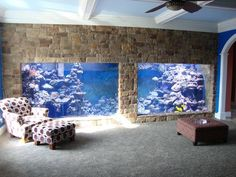 Saltwater Aquarium Fish - Find incredible deals on Saltwater Aquarium Fish and Saltwater Aquarium Fish accessories. Let us show you how to save money on Saltwater Aquarium Fish NOW! Cool Fish Tanks, Saltwater Fish Tanks, Saltwater Aquarium, Aquarium Fish Tank, Wall Aquarium, Aquarium Marin, Marine Aquarium, Aquarium Terrarium, Nature Aquarium