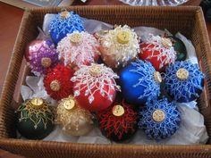 Christmas Ornament. $25 each. Christmas 2014, Christmas Bulbs, Art World, Holiday Decor, Home Decor, Christmas Light Bulbs, Decoration Home, Interior Design, Home Interior Design