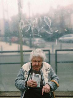 People at Bus Stop – Julien Tatham
