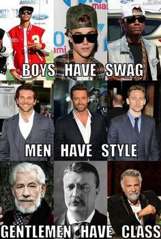 Preach. Although I believe Hugh & tom have a great deal of class ;)