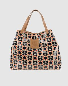 ORLA KIELY.  Does anyone know the name of this print and the year it was introduced?  My bag is very similar but the opening and handles are different.  I get a lot of compliments and I'd like to be able to share some information about it.  Thanks!
