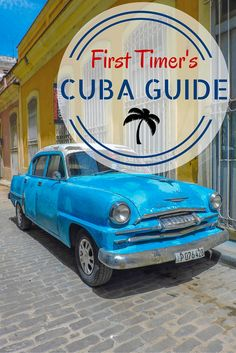 Learn your CUCs from your casas in this ultimate Cuba cheat sheet! Everything you need to know about: itineraries, accommodation, currency, budget, scams, and even diving!