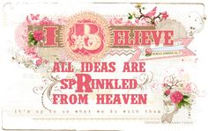 Free to print ~ Rhonna DESIGNS: a word about creativity & a little gift!