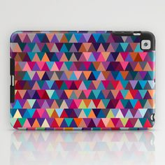 Triangles iPad Case by Ornaart - $60.00