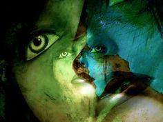'The two faces of a woman' von Gabi Hampe bei artflakes.com als Poster oder Kunstdruck $23.56