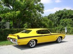 1971 Buick GS Stage 1 Yellow