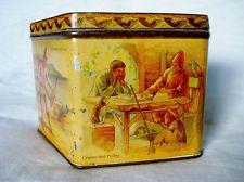 1894s Rare Jacob & C° Dublin Robinson Crusoe Biscuit tin Excellent condition!