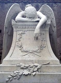 """""""Angel of Grief,"""" In memory of the Ukranian people who lost their lives 2-20-14 fighting for a voice in their government."""
