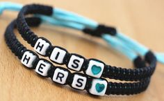 Couple Bracelets His and Hers Lover Bracelet Handmade Boyfriend and Girlfriend Jewelry >>> Check out this great product.