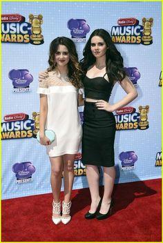 Laura and Vanessa Marano at the 2014 Radio Disney Music Awards!