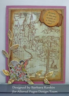 AlteredPages Artsociates: Faerie Song Cards