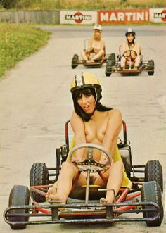Remarkable, very nude girls on go kart opinion you