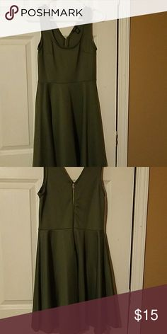 Green summer dress Beautiful green summer dress. Rue 21 Dresses Mini