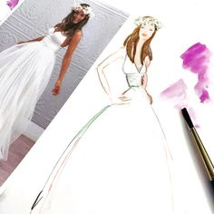 Custom bridal portraits......the perfect gift for the holiday bride!
