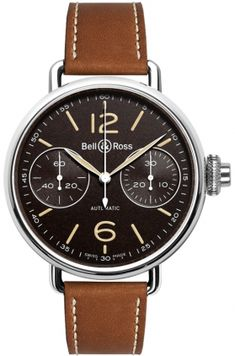 Bell & Ross Vintage #watch Chronograph Monopoussoir Heritage