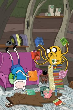 Adventure Time! encouraging reading!:-)