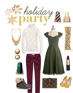 """""""Holiday Party"""" by jamberrynails on Polyvore"""