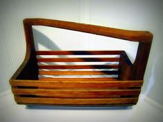 Unique Handmade Decorative Basket by naturallycre8tive on Etsy, $30.00