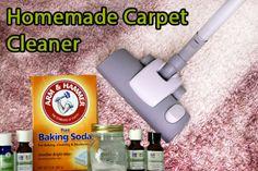 tapijt reinigen met soda
