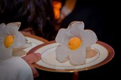 Sorbet comes second place (for once) to this Lily Server. POSH Couture Rentals