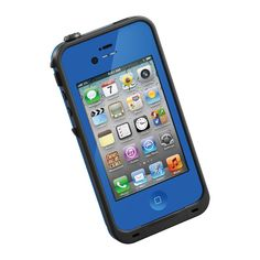 LifeProof Case for iPhone - Retail Packaging - Black - - Take your iPhone along, wherever life may take you. The LifeProof iPhone case delivers the highest level of waterproof, sh Iphone 4s, Iphone 4 Cases, Coque Iphone, Apple Iphone, Tablet Cases, Iphone Parts, 4s Cases, Iphone Mobile, Waterproof Iphone Case