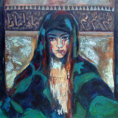 "Saatchi Online Artist: Suhair Sibai; Paint, 2012, Mixed Media ""What is Next?"""