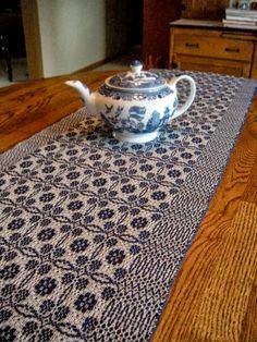 Handwoven cloth by Kate Kilgus