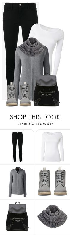 """Sem título #292"" by soleuza ❤ liked on Polyvore featuring White Stuff, Lands' End, Dr. Martens, Balenciaga and adidas"