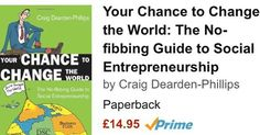 A practical guide for social entrepreneurs to give you the knowledge confidence inspiration to make your idea a reality. Loads of information for startups and this guide takes you through the essentials. Available on Amazon